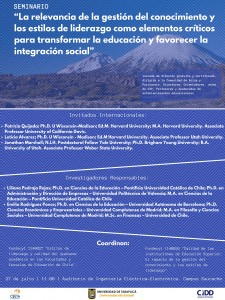Afiche seminario